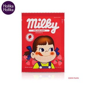 HOLIKA HOLIKA Peko Pure Essence Jelly Mask Sheet Strawberry 32ml [Sweet Peko Edition]